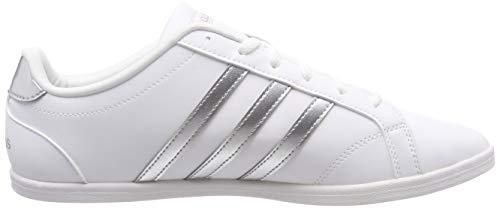 QT Ftwbla Plamat adidas 000 Weiß Damen Fitnessschuhe Ftwbla Vs Coneo txtqP8w4F