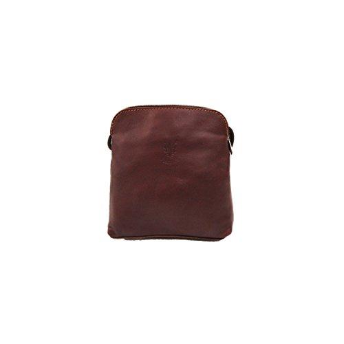 Borsa Di Marrone Piccolo Sacco colore Croce Spalla Chiaro Per Italiana Giallo Colore Giallo Cuoio Ps49 Cadaveri Morbida Vera rawzYanqH