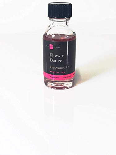 (FLOWER DANCE Fragrance Oil 1oz Beaumondes Perfume Body Oil Similar to Flowerbomb Made in the USA Alcohol-Free Paraben-Free Cruelty-Free Phthalate-Free)