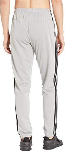 adidas Essentials 3 Stripe Tricot Pant Tapered Medium Grey HeatherBlack LG