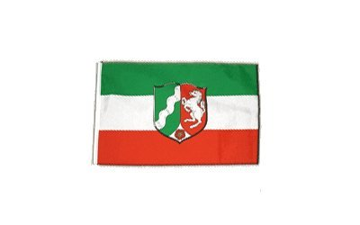 Fahne Flagge Deutschland Nordrhein-Westfalen 30 x 45 cm