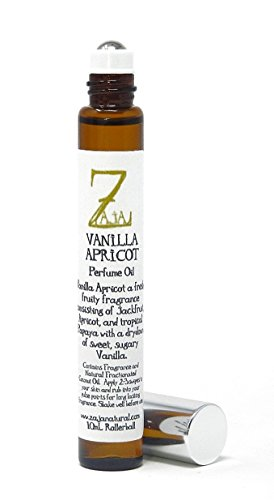 (Vanilla Apricot Perfume by ZAJA Natural 10 mL)