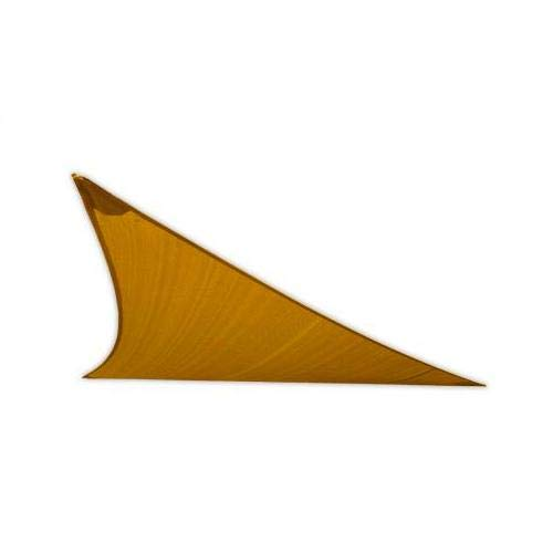 San Diego Sail Shades 20'x20'x28' Right Triangle (Sandy Beach) - Commercial Grade 205gsm Shade Sail (San Diego Fence)