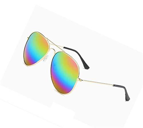 moda conducción de viajar UV400 Marco Gafas para Gafas Huyizhi Colorful colorida Diseño de de sol unisex luz Guay libre de aire de de protectoras al lente Gafas sol qFFxwUXHR