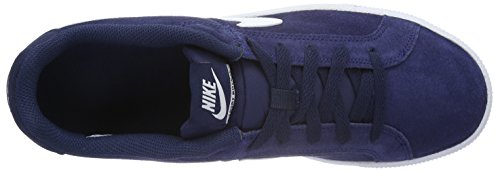 White de Court Midnight Navy Royale Bleu NIKE Gymnastique Homme Suede Chaussures qRaaS