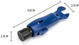 Alician RG59 / RG6ワイヤー圧着プライヤーツール用同軸ケーブルストリッパークランプ 家庭用ツール