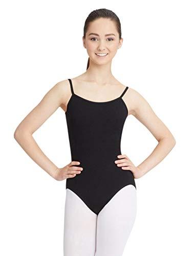 Capezio Women's Camisole Leotard With Adjustable Straps,Black,Small