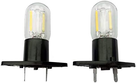 Bombilla De Microondas Led 1.5w Z187 Luz 240v Equivalente Microondas Bombilla 20w Incandescente Luz Diurna Por Midea Refrigerador Horno Microondas Campana Extractora EléCtrica: Amazon.es: Iluminación