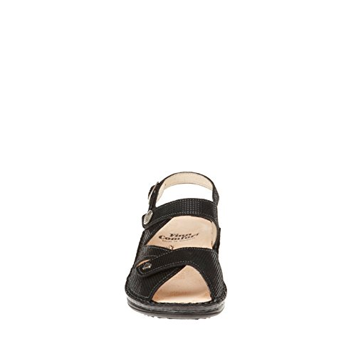 Finn Comfort Womens Santorin Soft Black Points QyWBEQAt