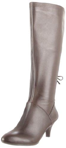 Naturalizer Dinka (Wide Calf), Fashion Stiefel Frauen, Pumps rund, Leder Oxford Brown