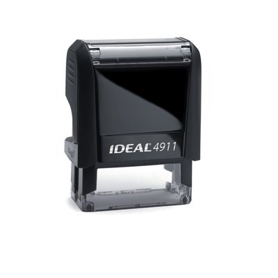 (Customizable Self Inking Rubber Stamp from Cenveo - up to 3 Lines - 9/16