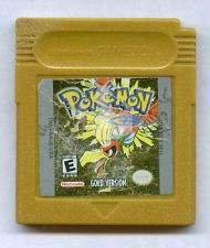 Nintendo Gameboy Pokemon Gold Version