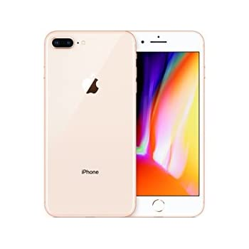 apple iphone 8 plus 5 5 64 gb fully unlocked gold cell phones accessories. Black Bedroom Furniture Sets. Home Design Ideas