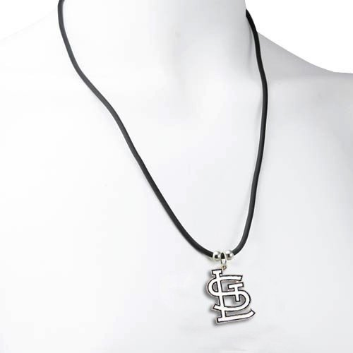 - MLB St. Louis Cardinals Mlb Rubber Cord Necklace