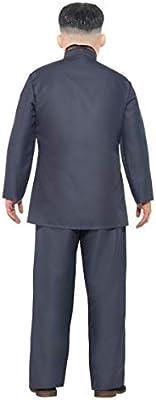 Adult Mens Dictator Kim Jong Un Korean Leader Fancy Dress Costume ...
