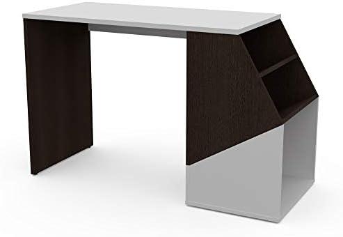 con estanter/ía Sieg LEVIRA Negro y Blanco 120 x 81 x 74 Mesa
