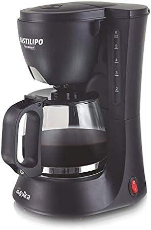 Bastilipo 6862 Cafetera Goteo, 600 W, 6 Cups, Acero Inoxidable ...
