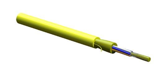 Corning 006E88-31131-29 6 fiber plenum OS2 single mode MIC tight-buffered distribution cable