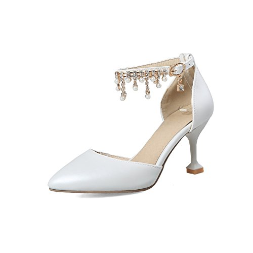 Sandales BalaMasa Femme BalaMasa Sandales Compensées Blanc TqEWf