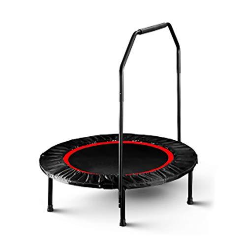 Boden Trampolin Outdoor Indoor Bungee Sport Jumping Fitness Rotes faltbares Trampolin Fitness-Trampolin Tragbares Trampolin - Schutzmatte - Minimale Gelenkbelastung - Kalorienreiche Verbrennung - Ve
