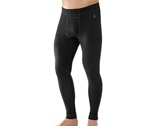 Long Underwear Smartwool (SmartWool Men's NTS Mid 250 Bottom (Black) Medium)