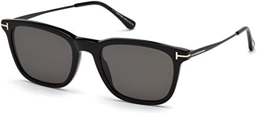 Sunglasses Tom Ford FT 0625 Arnaud- 02 01D shiny black/smoke polarized (Tom Ford Linda)