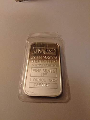 (Johnson Matthey Silver Bar)