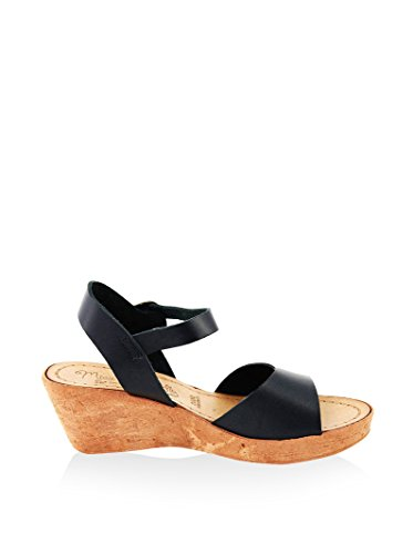 Mb10 Femme En black Cuir Sandale Butterfly Miss qzwX44