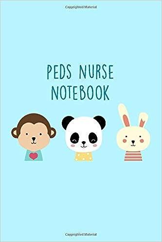 Amazon.com: Peds Nurse Notebook: Funny Nursing Theme Journal ...