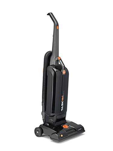 Hoover Commercial CH53005 Hard-Bagged Upright Vacuum, 13-Inch
