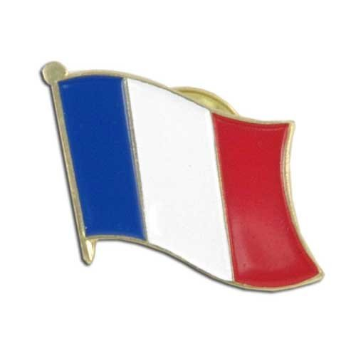 US Flag Store France Lapel Pin