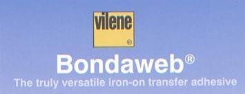 5m price is per meter Bondaweb by Vilene Vliesofix 45cm Wide Choose 1m 3m