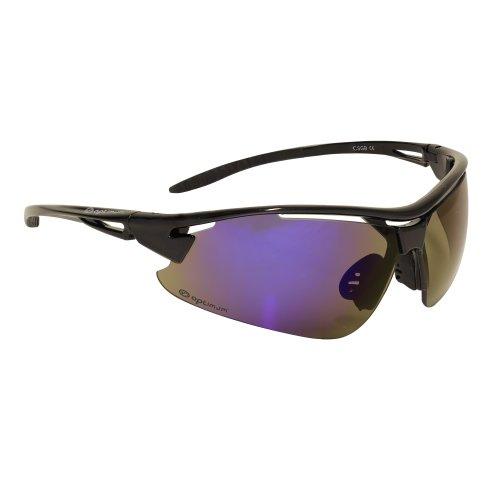 con intercambiables para Optimum Talla azabache sol negro hombre talla única de de azabache cristales Gafas ciclismo negro negro nqCU0