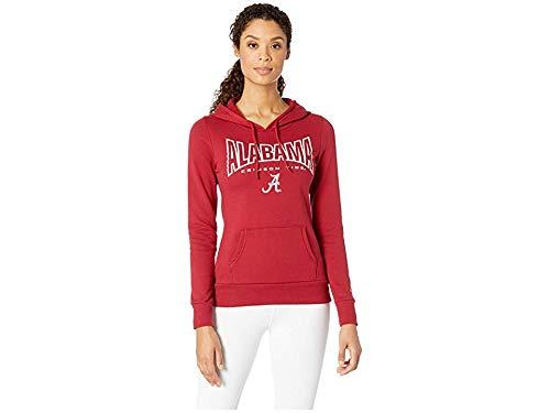 Champion College Women's Alabama Crimson Tide Eco University Fleece Hoodie Cardinal 2 Large