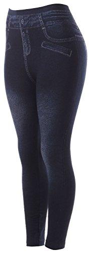 Jeans Leggings Tights - 1
