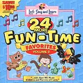 Let's Sing & Learn : 24 More Funtime Favorites, Vol. 2