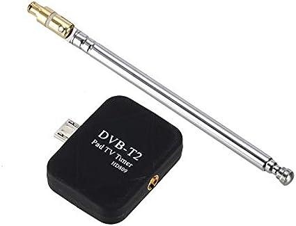 Fanyong DVB-T2 Micro USB del sintonizador de TV Receptor + ...