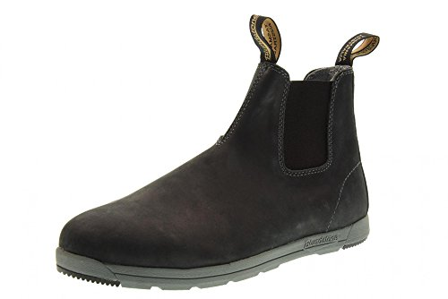 Blundstone 1428 Ankle Boots Men Rustic Black
