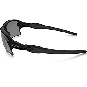 Oakley Flak Jacket 2.0 XL Sunglasses - Men's Satin Black/Black Iridium, One Size