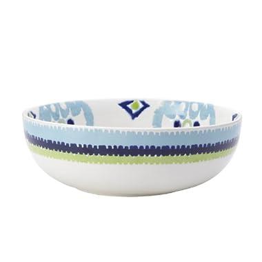 Rachael Ray Dinnerware Ikat 10-Inch Stoneware Serving Bowl, Print