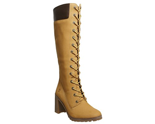 Wheat Boots Timberland Allington Inch Womens 14 Long Nubuck 8qgT7n8