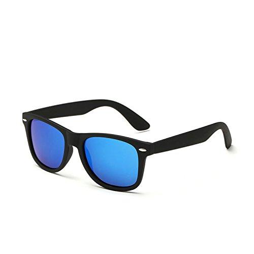 TIANYESY Classic Polarized Vintage Wayfarer Sunglasses (Black|Light - Pads Sunglasses Without Nose
