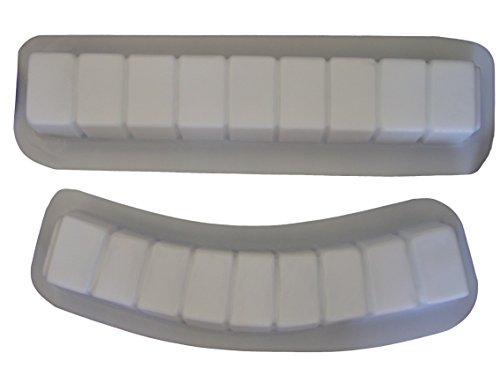 (Brick Curve & Straight Border Edging Concrete Plaster Mold 5014 )