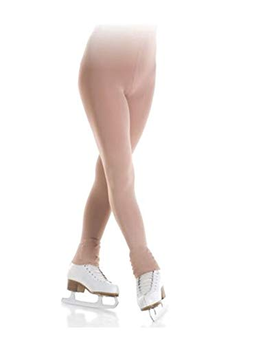 Mondor 3339 Footless Evolution Figure Skating Tights - XL-XG - Light Tan
