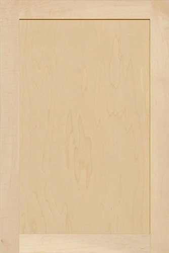- Unfinished Maple Shaker Cabinet Door by Kendor, 30H x 20W