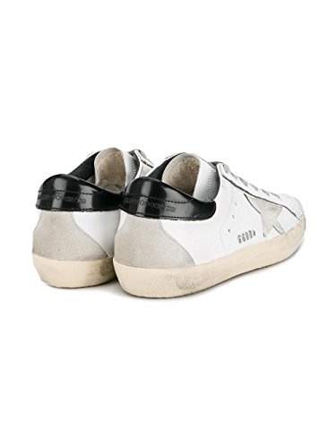 Golden Goose Sneakers Donna GCOWS590W55 Pelle Argento/Bianco