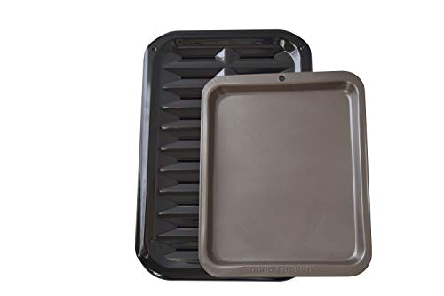(Range Kleen Broil and Bake Pan WITH Nonstick Toaster Oven Cookie Sheet...)