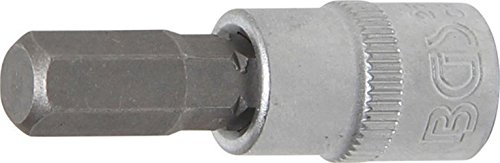 1/4' Bit Socket, int. hex. 7 mm