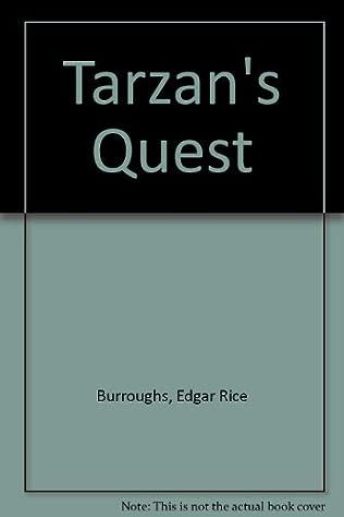 book cover of Tarzan\'s Quest