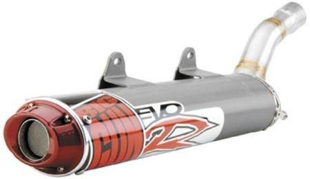 (Big Gun Exhaust 09-24602 Series Titanium One Size EVO R Slip On)
